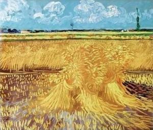 campo_de_trigo_con_gavillas_Van_Gogh